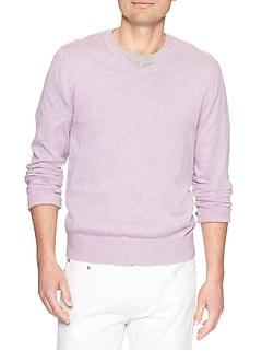 Premium Luxe V-Neck Sweater