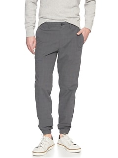 Hybrid Slim-Fit Stretch Grey Trouser