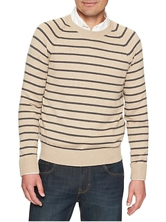 Premium Luxe Stripe Sweater