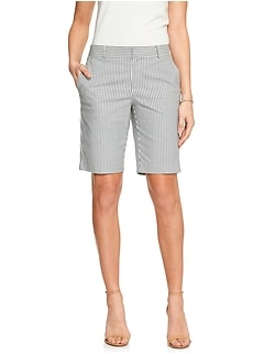 Tailored Mini Stripe Bermuda Short