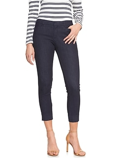 Sloan Crop Denim Pant