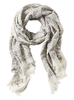 Animal Jacquard Scarf