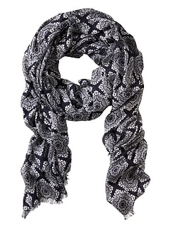 Damask Tile Scarf