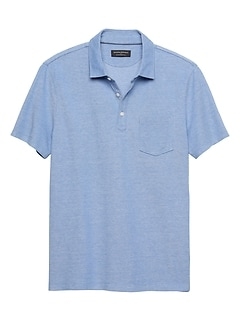 Moisture Wicking Birdseye Pique Polo