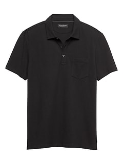 Moisture Wicking Solid Pique Polo