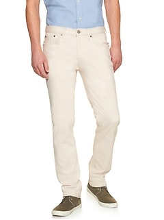 Premium Performance Stretch Ecru Jean
