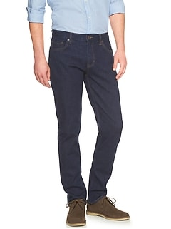 Techmotion Slim-Fit Stretch Rinse Jean