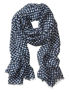 Maritza Abstract Scarf