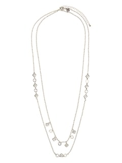 Pave Filagree Necklace