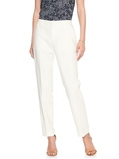 Ryan Stretch White Suit Pant