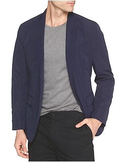 Slim-Fit Performance Blazer