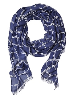 Windowpane Scarf