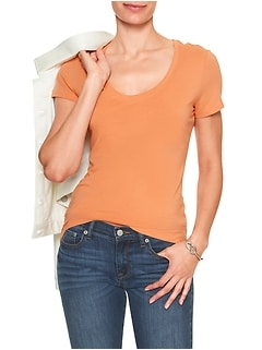 Timeless Scoop-Neck Tee