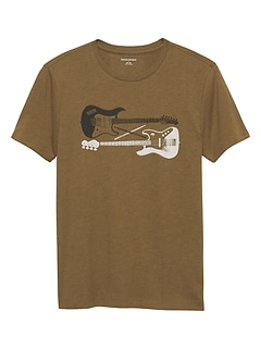 Guitars Graphic T Shirt