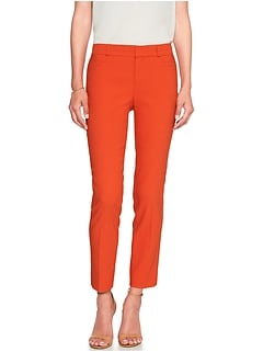 Sloan Texture Slim Ankle Pant