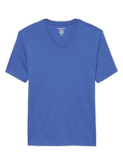 Premium Wash V-Neck T Shirt
