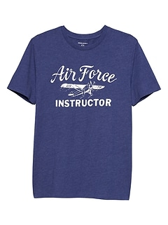 Airforce Graphic T Shirt
