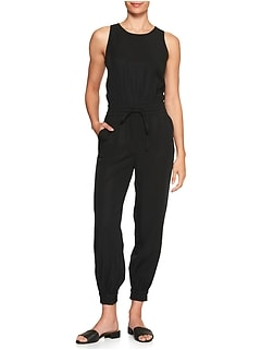 Cuffed Jumpsuit