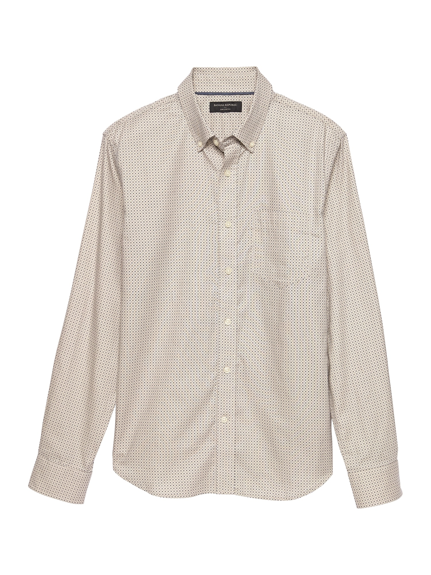 Slim Fit Untucked Oxford Shirt Banana Republic Factory