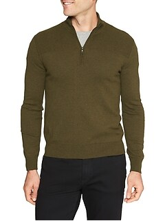 Premium Luxe Mock Neck Sweater