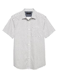 Print Slim-Fit Soft Wash Shirt