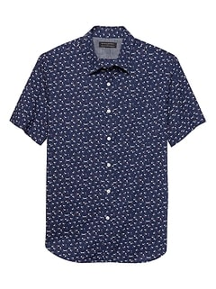 Print Standard-Fit Soft Wash Shirt