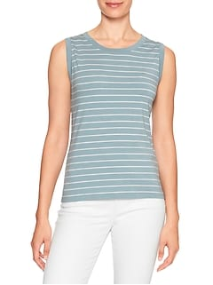 Stripe Timeless Tank