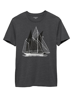 Sailboats Graphic T Shirt
