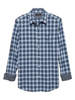 Standard-Fit Soft Wash Yarn Dye Shirt