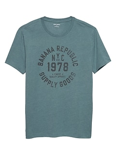 1978 Logo Graphic T Shirt