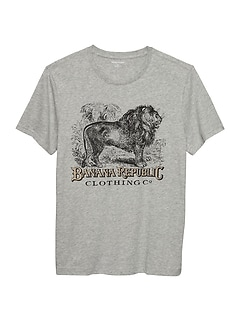 Heritage Lion Graphic T Shirt