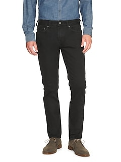 Techmotion Skinny Black Jean