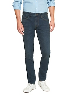 Techmotion Skinny Dark Wash Jean