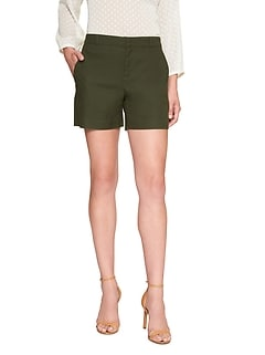Pique Tailored Shorts - 5 inch inseam