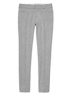Sloan Heathered Slim Ankle Pant
