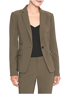 Machine Washable Bi-Stretch Cutaway Suit Blazer