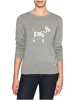 Petite Machine Washable Forever Dog Pullover Sweater