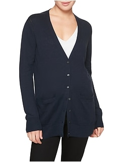 Boyfriend V-Neck Cardigan