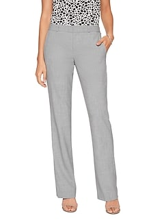 Washable Curvy Logan Grey Suit Trouser