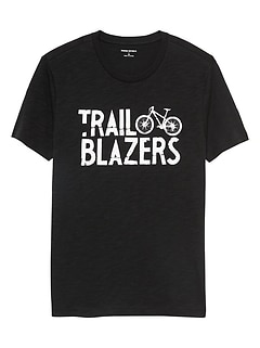 Trail Blazers Graphic T Shirt