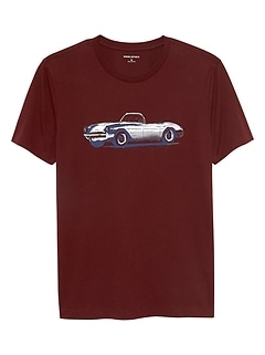 Classic Car Graphic T Shirt