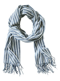 Haley Stripe Scarf