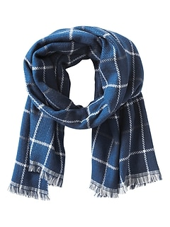 Reverse Flannel Scarf