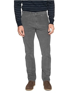 Slim-Fit Stretch Corduroy Pant