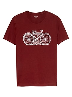 Bike Club Graphic T Shirt