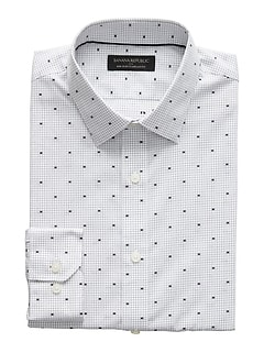 Standard-Fit Non-Iron Yarn Dye Shirt
