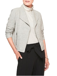 Boucle Moto Stretch Jacket