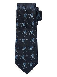 Tonal Floral Tie