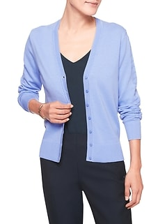Machine Washable V-Neck Forever Cardigan