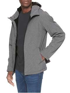 Water Resistant Stretch Softshell Jacket